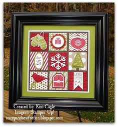 Stamp and Sew For Fun: Getting in the Christmas Mood