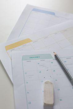 {Freebie} Printable Planner   Fellow Fellow