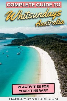Paradise on Earth. Discover things to do in Whitsundays - Airlie Beach, Whitehaven Beach, waterfalls, beautiful beaches in Australi Australia Travel Guide, Visit Australia, Queensland Australia, Australia Beach, Western Australia, Airlie Beach, Great Barrier Reef, Melbourne, Paradise On Earth