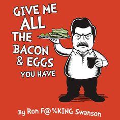 Ron Swanson - Dr. Seuss mashup