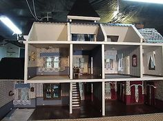 Little-Orphan-Annie-039-s-Victorian-Doll-House-Mansion
