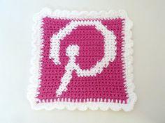 Pinterest Potholder pattern by Book People Studio ~ free pattern