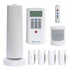 Home Security System 10//100 Ethernet Wired iSmart Alarm Preferred Package