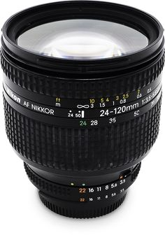 This tale covers the AI AF Nikkor 24-120mm f/3.5-5.6D, a normal zoom lens with a high zoom ratio.