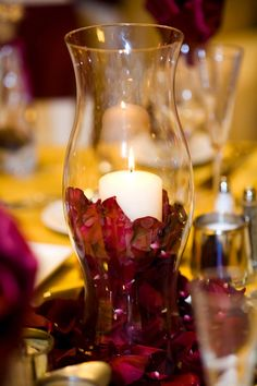 Diy Hurricane Vase Centerpieces Best Of Pinterest And