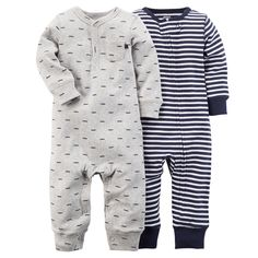 Baby Boy 2-Pack Jumpsuits | Carters.com
