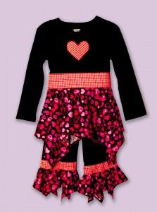 A Valentine's Day Outfit tutorial for your little sweetheart!