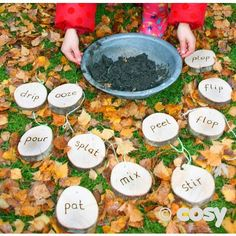 MUD PIE RECIPE DISCS (15PK) - Sand & Water - Early Years - Cosy Direct