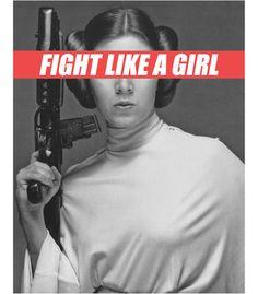 Vandal - FIGHT LIKE A GIRL by DAFUQShirts
