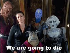Farscape - and in John's defense, they more or less made him dress that way (the flourish is all his, though) (play) Best Sci Fi Shows, Great Tv Shows, Romantic Comedy Movies, Fantasy Movies, Fantasy Art, Geek Wedding, Geek Humor, Documentary Film, Great Movies