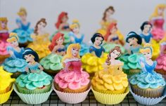 Princess cupcakes - making these this year!