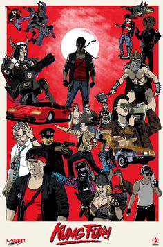 kung fury (updated) by PotteringAbout