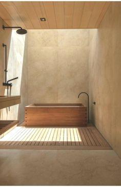 Gorgeous Japanese Bathroom Design With Bathtub « kenebae.me Bathroom design Gorgeous Japanese Bathroom Design With Bathtub Bathroom Interior Design, Home Interior, Living Room Interior, Living Room Decor, Interior Decorating, Interior Livingroom, Interior Modern, Foyer Decorating, Interior Colors