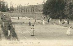 #CartePostalesAnciennes sur #Geneanet : joueuses de #tennis à #VeulesLesRoses