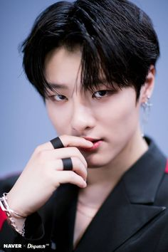 """Click for full resolution. X1's Cho Seungyoun """"FLASH"""" promotion photoshoot by Naver x Dispatch"""