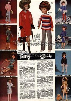 Catalogue/ Brochure Plate Sindy  Doll 1960s