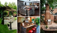 Summer is the great time of enjoying fresh air and hot grill in gardens and patios with friends and family, so if you are a serious fan of throwing some steaks on the grill, having a dedicated barbecue zone in your home's outdoor is so cool idea. An outdoor barbecue area can be very luxurious, […]