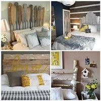 Love the different headboard ideas....