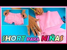 Baby Dress Patterns, Sewing Patterns, Short Infantil, Short Niña, Baby Frocks Designs, Frock Design, My Girl, Beach Mat, Gym Shorts Womens