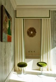 Tropical Home Design looks like you'll have a good sleep here Jan Showers Modern Home Interior Design Image shower curtain Miles Redd. Shower Curtain With Valance, Custom Shower Curtains, Bathroom Shower Curtains, Kitchen Curtains, Curtain Rods, Long Shower Curtains, Downstairs Bathroom, Diy Shower, Bath Shower
