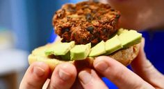 These Southwestern Black Bean Burgers are loaded with iron and the alphabet of vitamins - just what your baby needs. Perfect for Baby Led Weaning. Baby Food Recipes, Gourmet Recipes, Healthy Recipes, Burger Perfect, Sushi Platter, Black Bean Burgers, Dairy Free, Grain Free, Gluten Free