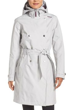 Helly Hansen 'Welsey' Waterproof Trench Coat available at #Nordstrom