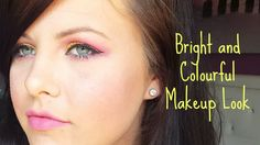 Bright and Colourful Makeup Look