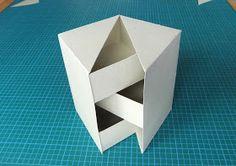 "From My Craft Room: Secret box tutorial (4 1/2"" high)"