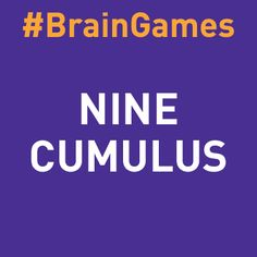 #BrainGames - Can you figure out this catchphrase?