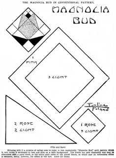 Free Vintage Quilt Pattern Basket of Lilies for Easter | Vintage ... : kansas city star quilt patterns free - Adamdwight.com