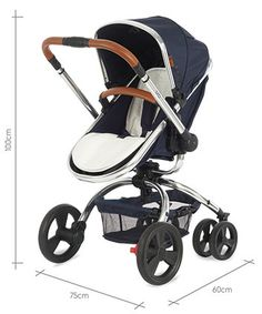 Mothercare Orb Pram and Pushchair - Navy Special Edition - prams & pushchairs - Mothercare