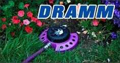 We love these colorful sprinklers from DRAMM!