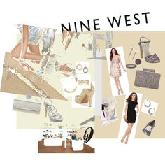 More Glam with Nine West, created by #roxanne-mcgarty on #polyvore. #fashion #style Nine West