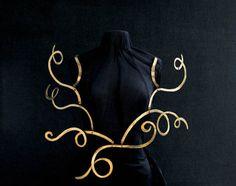 Necklace |  Alexander Calder (American, 1898–1976), ca. 1940. Brass wire