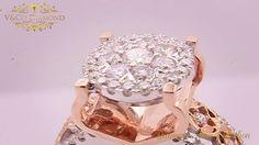 Indah, mewah, cantik, dan berkilau adalah kata yang tepat untuk menggambarkan Cincin Berlian Wanita milik V&Co Diamond ini. Kemewahan dan keindahannya jelas terlihat pada butiran berlian yang terdapat pada cincin ini. Kilauan dan kecantikannya tak hanya ditunjukkan oleh belasan -bahkan puluhan butir berlian yang ada, namun warna cincin yang terdiri dari emas putih dan rose gold juga menghadiahkan kecantikan bagi pemakainya.  Cincin Berlian Wanita ini adalah dapat menjadi pilihan yang pas…