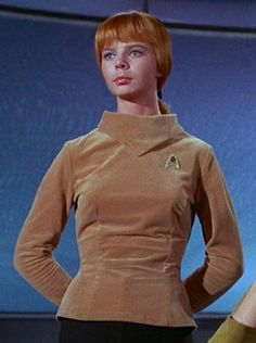 J.M. Colt was a crewmember of the USS Enterprise in the mid-23rd century. She served as Captain Christopher Pike's yeoman for some time from 2254, replacing his yeoman killed in the fight on Rigel VII. played by Laurel Goodwin