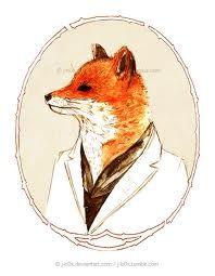 mr fox drawing - Google Search