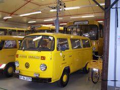 VW T2 der Bundespost - Postbulli