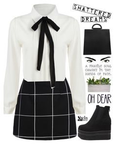 """""""SheIn 10"""" by scarlett-morwenna ❤ liked on Polyvore featuring vintage, women's clothing, women, female, woman, misses and juniors"""