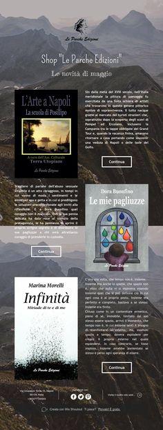 """Shop """"Le Parche Edizioni"""" - Le novità di maggio"""