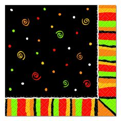 30289-fiesta-stripes-beverage-napkins.jpg (600×600)