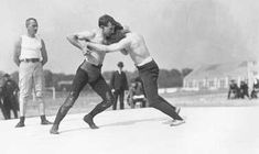 The 1904 Olympics in St. Louis marked not only the first time the Games were hosted by an American city, but also the first time that freestyle wrestling made an appearance in the Olympics. The long history of Olympic wrestling is what has left so many athletes and fans shocked when the IOC announced this week that the sport would be thrown out of the Games. Read more on the Missouri History Museum's blog: http://historyhappenshere.org/archives/7342#