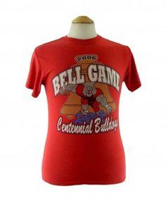 """2006 Bell Game T shirt #vintagefashion #vintage #retro #vintageclothing #90s #1990s #vintagetshirts <link rel=""""canonical"""" href=""""http://www.blue17.co.uk/>"""