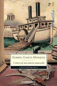 Libros recomendados: 'Crónica de una muerte anunciada', de Gabriel García Márquez.