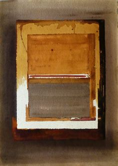 Art is a journey into the most unknown thing of all - oneself. Nobody knows his own frontiers… I. Minimalist Art, Dyes, Grid, Mixed Media, It Works, Stains, Journey, Cap, Inspire