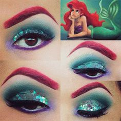 inspiração-maquiagem-princesas-disney-pequena-sereia-little-mermaid-4--maquiagem-para-carnaval-makeup-princess-