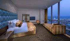 Jumeirah at Etihad Towers Hotel - Deluxe King Room