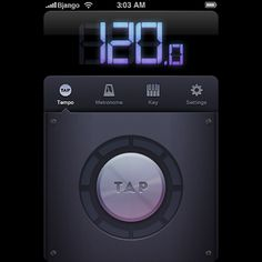 Beats for iPhone    Beats combines a BPM counter, an advanced DJ metronome and a key-mixing aid. It won't mix the records for you or get you a drink from the bar, but it might help you become a better DJ.