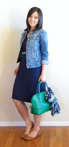navy, denim, green