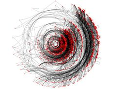 From Infosthetics: the beauty of data visualization (http://pingmag.jp/2007/03/23/infosthetics-form-follows-data/)